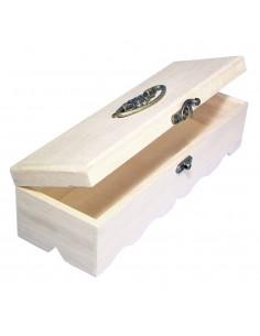 Boîte en bois - 29 x 9.5 x...