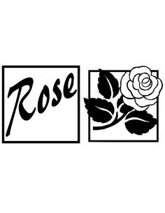 """Reliefs pour Savon """"Rose &..."""