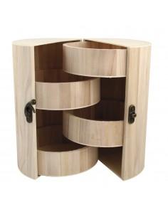 Case pour bijoux en bois...