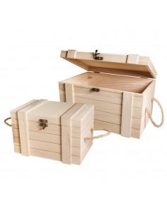 Set de coffres en bois - 30...