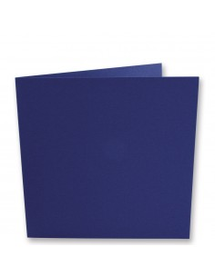 """Cartes Carrées """"Bleu Royal""""..."""