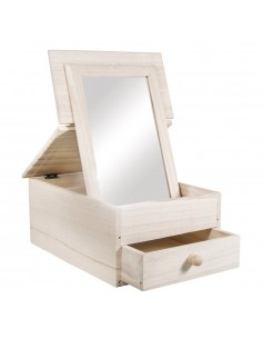 Armoire de toilette en bois...