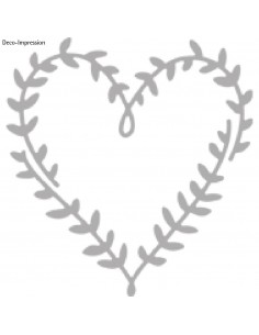 """Gabarit d'estampage """"Hearts..."""