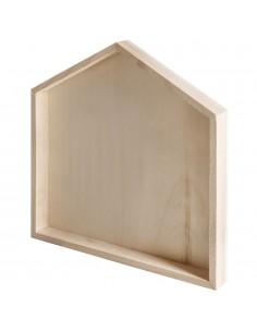 Cadre en bois en forme de...