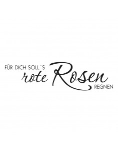 "Tampon en Bois ""Rote Rosen""..."