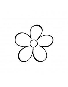"Tampon en Bois ""Fleur"" - 3..."