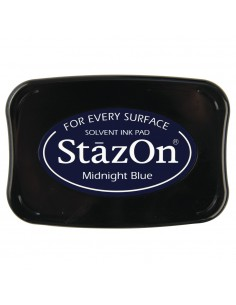 """Tampon Encreur StazOn """"Bleu..."""