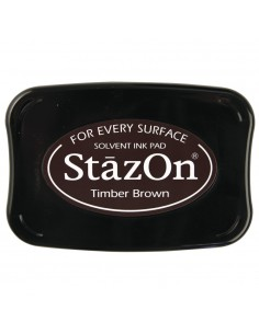 "Tampon Encreur StazOn ""Brun..."