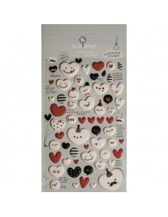 "Stickers ""Balloon Heart"" -..."