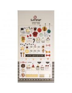 """Stickers """"Sweet"""" - 15 x 9.2 cm"""