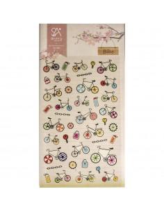 """Stickers """"Bike"""" - 15 x 9.2 cm"""