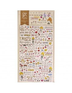 "Stickers ""Drawing Love"" -..."