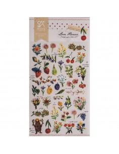 """Stickers """"Love Flower"""" - 15..."""
