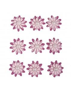Stickers Déco Fleurs en...