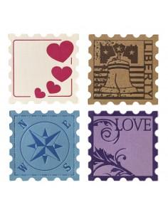 "Plaques Typographiques ""Stamp"""