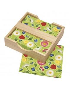 Boîte en bois pour...