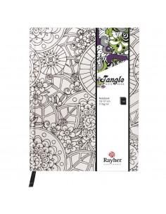 "Agenda Flora ""Blanc"" - 16 x..."