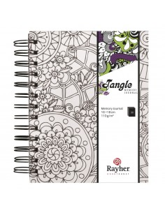Tangle Journal Memory Flora...