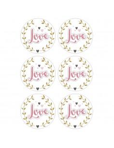 Accessoires en Papier Love...
