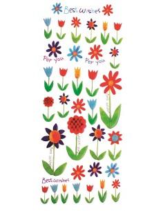 "Stickers 3D ""Tulipes"""