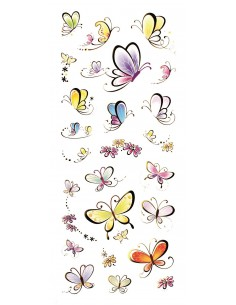 "Stickers 3D ""Papillons"""