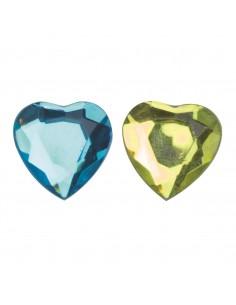 """Cœurs en Diamant """"Jaune &..."""
