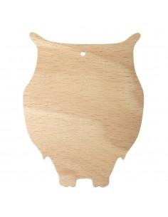 Hiboux en bois - 0.2 cm -...
