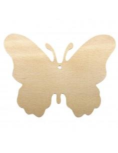 Papillons en bois - 0.2 cm...