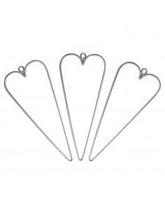 Cœurs en fil de fer - 12 x...