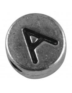 """Perle métallique A """"Argent""""..."""