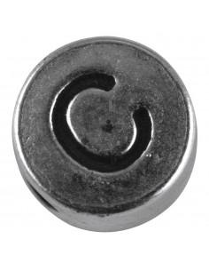 "Perle métallique C ""Argent""..."