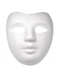 Masque en papier-mâché...