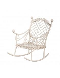 "Chaise à bascule ""Blanc"" -..."