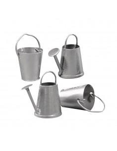 Arrosoirs & Sceaux en métal...