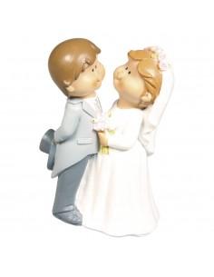 Jeunes mariés en polyrésine...
