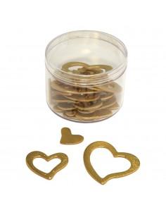 Cœurs miniatures en bois...