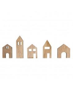 Maisons miniatures en bois...