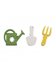 Outils de jardin miniatures...