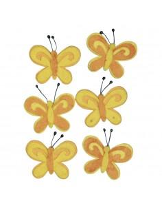 Papillons en feutrine...