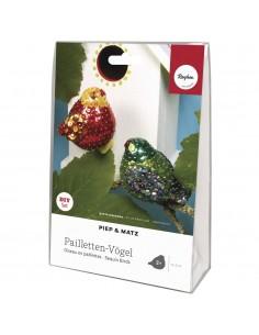 Kit Paillettes Oiseaux...