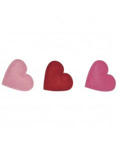 Petits Cœurs en feutrine...