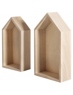 Set de 2 cadres en bois...