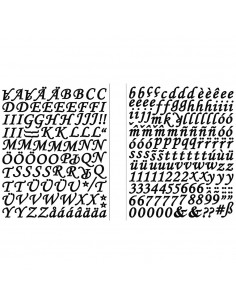 Stickers Alphabet & Chiffre...