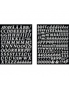 Stickers Alphabet &...
