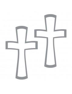 Motif Adhésif Croix...