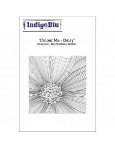 "Tampon A6 ""Colour me Daisy""..."
