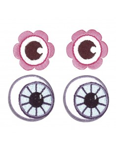 "Yeux Thermofixable ""Rose &..."