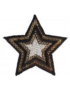 """Patch à repasser """"Star"""" - 6 cm"""