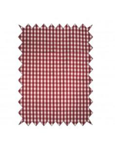 Tissu en coton Chalet Carré...
