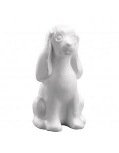 Chien en polystyrène - 25 cm